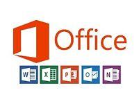 Microsoft office 2013 / 2016 For Windows / Macbook / Imac