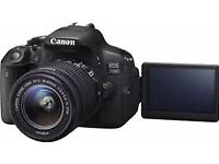 Canon 700d and Lens