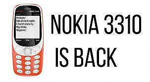 NOKIA 3310 DUAL SIM. UNLOCKED. BRAND NEW. BOX PACKED AND SEALED