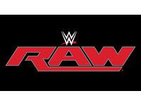 1 x WWE RAW Glasgow Ticket - 7th November 2016 - Face Value
