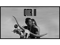 2 Standing tickets for OTR II Jay Z and Beyonce tour LONDON