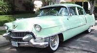 2 for 1! Two '55 Cadillacs both complete