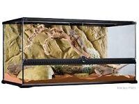 Reptile Vivarium / Terrarium EXOTERRA 90cm x 40 x 40