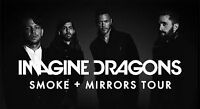 Imagine Dragons - $60 for 2 Tickets ($30 each) @ Bell Centre