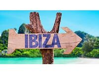 Ibiza return flights with jet 2 (2 adults, 16th august - 20th august 2018) from Carlisle to Ibiza.