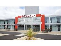 Hotel Chef needed for the Ramada Hotal Located on the Newport Pagnell Services M1 Motorway.