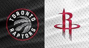 Raptors vs. Rockets, March 5 – Lower Bowl, Aisle