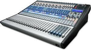24 Channel Digital Mixer/Recording Interface