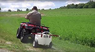 ATV UTV QUAD Mower Tractor SPRAYERS 30L to 600L 12 volt or PTO