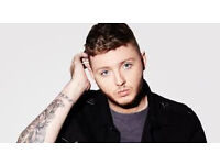 2x tickets for James Arthur at Manchester Apollo this Saturday, including hotel stay - £115
