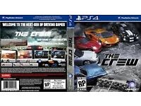 The Crew PS4*MINT CONDITION* Only used once GAME SWAP ACCEPTED.