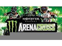 Arenacross Platinum VIP Ticket x 2