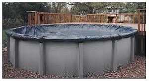 Winter pool cover for 21'- Toile hivernale pour piscine 21'