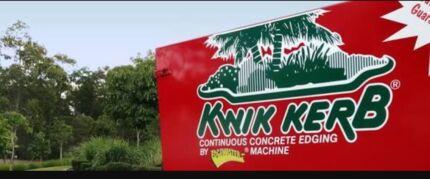 Kwik Kerb Business including Equipment