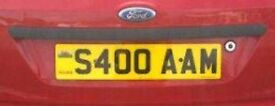 Private Plate for sale - S400AAM