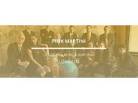 PINK MARTINI Sat 22.10 @ ROYAL ALBERT HALL
