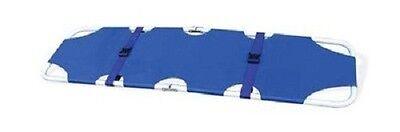 Medical Foldaway Stretcher Blue Portable Emergency Equipment Ambulance Forza4