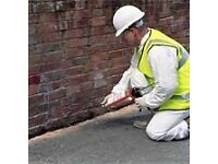 Damp and damp proofing covering London and the home counties