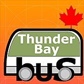 """Free iPhone & Android Transit App """"All That Transit Thunder Bay"""""""