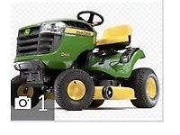 JOHN DEERE RIDE ON LAWNMOWER - BRAND NEW