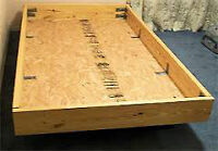 Waterbed frame