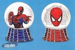SPIDERMAN-SNOW-Set-of-2-pieces-MINI-WATERGLOBES