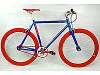Brand new NOLOGO single speed fixed gear fixie bike/ road bike/ bicycles + 1year warranty NHY