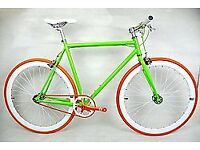 Brand new TEMAN single speed fixed gear fixie bike/ road bike/ bicycles + 1year warranty aaqwd
