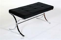 Faux Leather Seats Moses Bench-MS 18 in Toronto Furniture Sale (BD-1450)