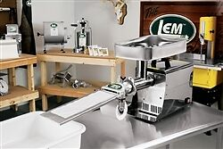 Lem Ground Meat Patty Maker Attachment for # 12 Grinder 517A