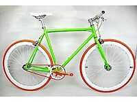 Brand new TEMAN single speed fixed gear fixie bike/ road bike/ bicycles + 1year warranty oo9