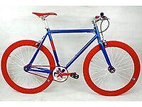 Brand new NOLOGO aluminium single speed fixed gear fixie bike/ road bike/ bicycles + 1year warranty