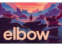 A pair of FACE VALUE TICKETS to see Elbow LIVE at Westonbirt Arboretum