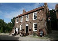 Crown Inn, Bolton Percy, York, YO23 7AG. Single live-in manager required.