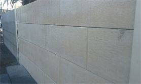 DECORATIVE CONCRETE SLEEPER BLOCK LOOK RETAINING WALLS Hackham Morphett Vale Area Preview