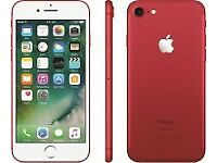 iPhone 7 red 256gb Brand New and unlocked