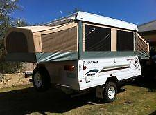 Jayco Hawk Camper for hire Including Annex Prospect Prospect Area Preview