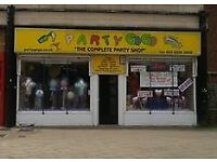 CARDS, BALLOONS AND PARTY SHOP BUSINESS Ref 146557