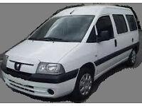 Wanted: Peugeot Expert, Fiat Scudo, Citroen Dispatch, Combi or Van 2005-2006 (NOT Disability)