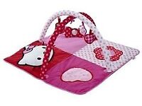 New In box Hello Kitty Play Gym and Sensory Mat - Suitable from birth upwards