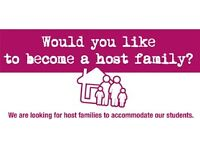 Would you like to become a Host Family?