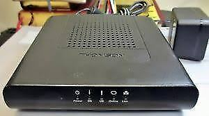 Cable Modem: Thomson DCM476  unlocked for Teksavvy etc