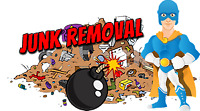 24/7 JUNK REMOVAL GARBAGE DISPOSAL LOWEST FLAT RATE!