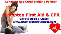 Standard First Aid and CPR Brampton
