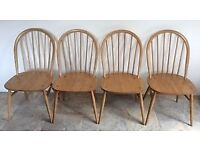 X4 ercol chairs