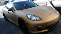 Matte Satin Gold Vinyl / LOWEST PRICE in GTA / Wrap your car