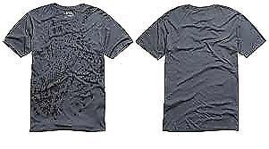 Fox Racing Mens Biffy Short Sleeve Ultralight Premium T Shirt Charcoal Small