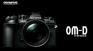 BRAND NEW OLYMPUS OM-D E-M1 MARK II BODY
