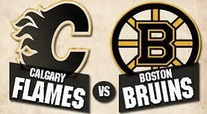Boston Bruins vs Flames  March 15th (Wednesday) 2nd Bowl Seats