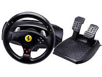 Thrustmaster PS3/PC Ferrari GT experience racing steering wheel & pedals